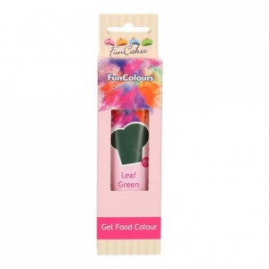 Colorant alimentaire en gel FunCakes Leaf Green 30 g