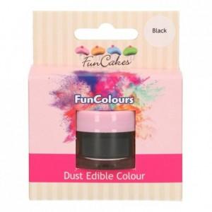 FunCakes Edible FunColours Dust Black