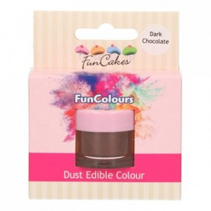 FunCakes Edible FunColours Dust Dark Chocolate
