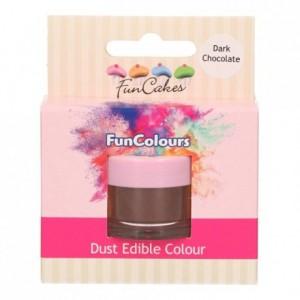 Poudre colorante alimentaire FunColours FunCakes Dark Chocolate
