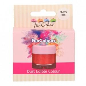 Poudre colorante alimentaire FunColours FunCakes Cherry Red