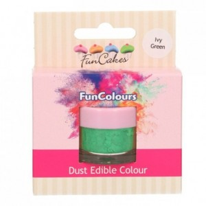FunCakes Edible FunColours Dust Ivy Green