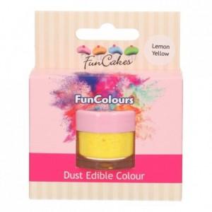 FunCakes Edible FunColours Dust Lemon Yellow