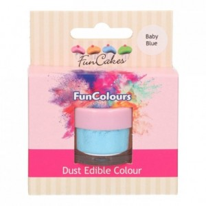 FunCakes Edible FunColours Dust Baby Blue