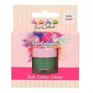 FunCakes Edible FunColours Dust Holly Green