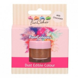 FunCakes Edible FunColours Dust Milk Chocolate