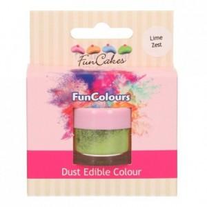 Poudre colorante alimentaire FunColours FunCakes Lime Zest