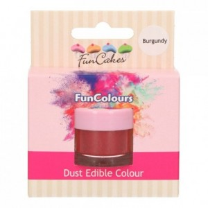 FunCakes Edible FunColours Dust Burgundy