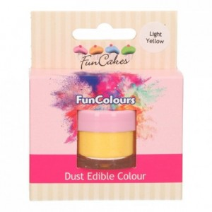 Poudre colorante alimentaire FunColours FunCakes Light Yellow