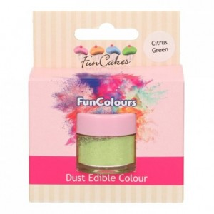 FunCakes Edible FunColours Dust Citrus Green