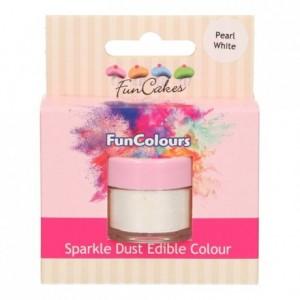 FunCakes Edible FunColours Sparkle Dust Pearl White