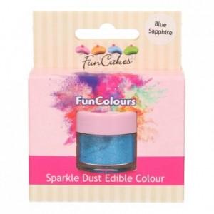 Paillettes alimentaires FunColours FunCakes Blue Sapphire