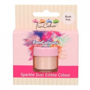 FunCakes Edible FunColours Sparkle Dust Blush Pink