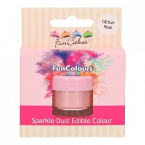 FunCakes Edible FunColours Sparkle Dust Glitter Rose
