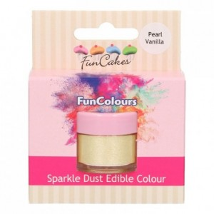 FunCakes Edible FunColours Sparkle Dust Pearl Vanilla