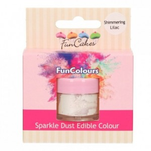 FunCakes Edible FunColours Sparkle Dust Shimmering Lilac