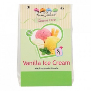 FunCakes Mix for Vanilla Ice Cream, Gluten Free 200g