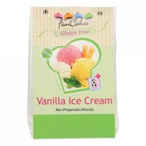 Préparation pour glace à la vanille FunCakes sans gluten 200 g