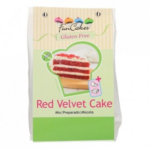 FunCakes Mix for Red Velvet Cake, Gluten Free 400g