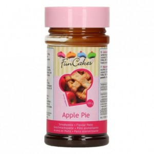 Pâte d'aromatisation FunCakes tarte aux pommes 100 g