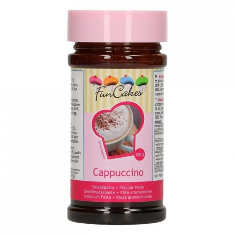 Pâte d'aromatisation FunCakes cappuccino 100 g