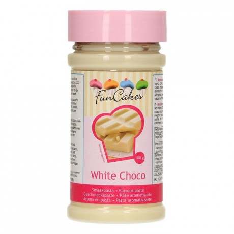 Pâte d'aromatisation FunCakes chocolat blanc 100 g