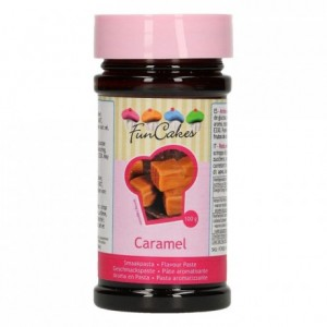 Pâte d'aromatisation FunCakes caramel 100 g
