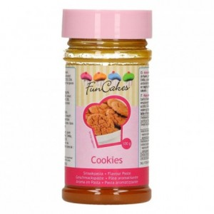 Pâte d'aromatisation FunCakes biscuits 100 g