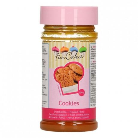 Pâte d'aromatisation FunCakes biscuits 100 g