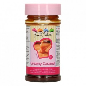 Pâte d'aromatisation FunCakes caramel à la crème 100 g