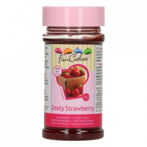 FunCakes Flavour Paste Zesty Strawberry 120g