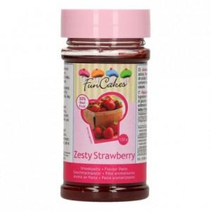 Pâte d'aromatisation FunCakes fraise acidulée 120 g