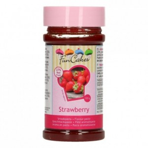 FunCakes Flavour Paste Strawberry 120g