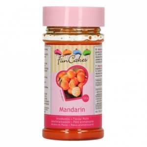 Pâte d'aromatisation FunCakes mandarine 120 g