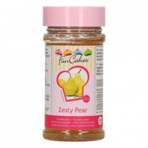 Pâte d'aromatisation FunCakes poire acidulée 120 g