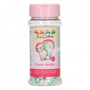 Medley en sucre FunCakes Frozen 50 g