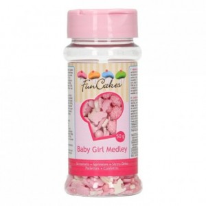 Medley en sucre FunCakes Bébé Fille 50 g