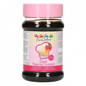 Glaçage miroir FunCakes caramel 375 g