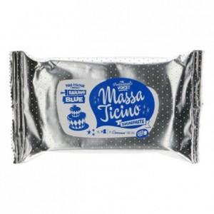 Pâte à sucre tropicale Massa Ticino bleu marin 250 g