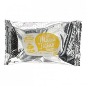 Pâte à sucre tropicale Massa Ticino jaune doux 250 g