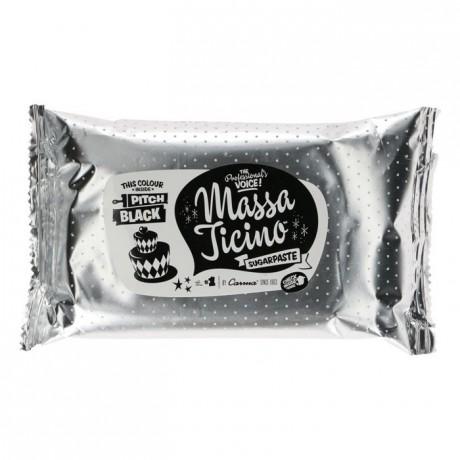 Pâte à sucre tropicale Massa Ticino noir absolu 250 g