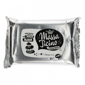 Pâte à sucre tropicale Massa Ticino noir absolu 1 kg