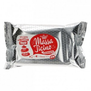 Pâte à sucre tropicale Massa Ticino rouge d'amour 250 g
