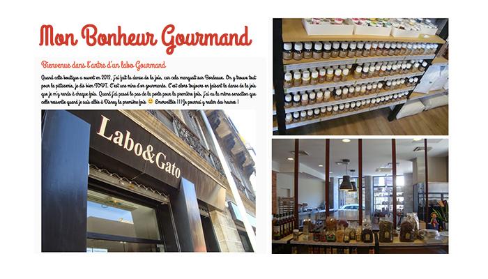 On parle de nous ! Mon bonheur gourmand, labo et gato, cours de cuisine, produits pâtisserie à Bordeaux et Toulouse