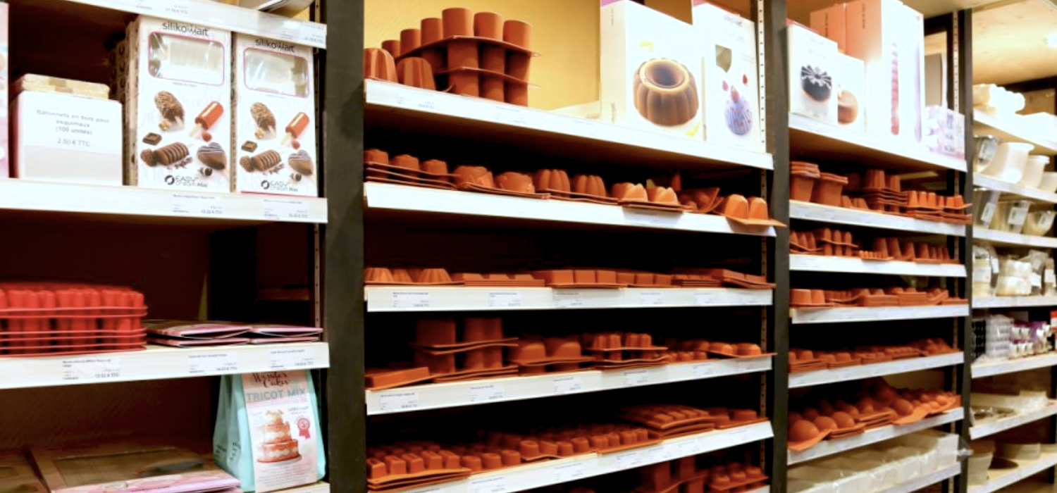 Boutique labo&gato à Toulouse, professional baking supplies
