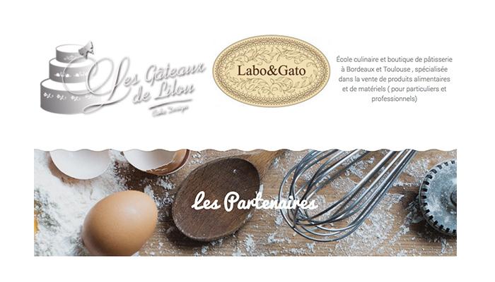 On parle de nous ! Les gâteaux de Lilou, labo et gato, cours de cuisine, pastry tools and baking utensils