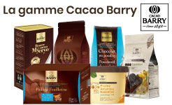 gamme cacao barry
